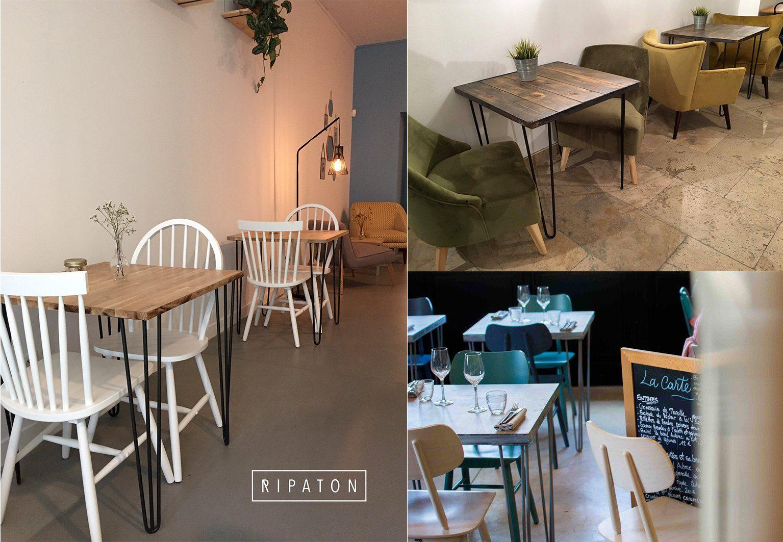 Ripaton Pieds De Table quels pieds de table choisir pour votre restaurant ?