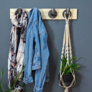 Porte manteaux DIY ripaton