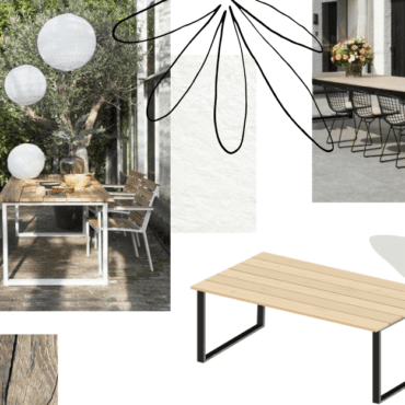 grande table de jardin inspiration