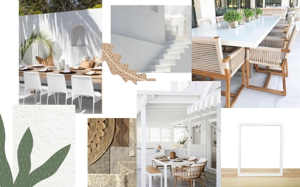 Inspiration grande table extérieur